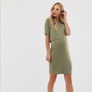 🆕 ASOS Maternity/Nursing Dress